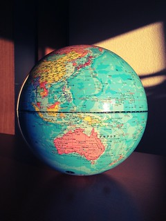 The world on my table