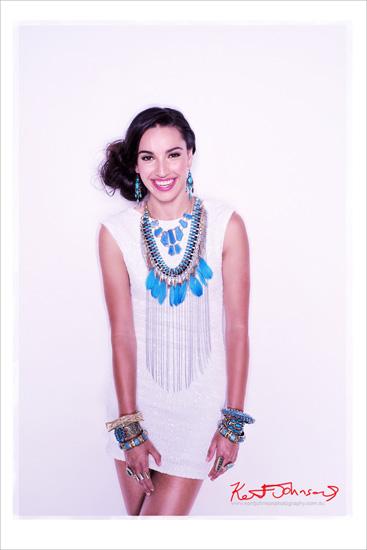 Blue  jewellery story mid shot, Oumira Fashion Jewellery