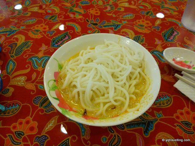 Curry laksa at Chilli Padi Nonya Café