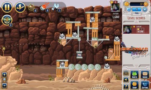 Angry Birds en facebook 1