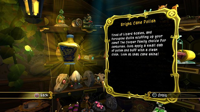 Sly Cooper: Thieves in Time - Cane Polish
