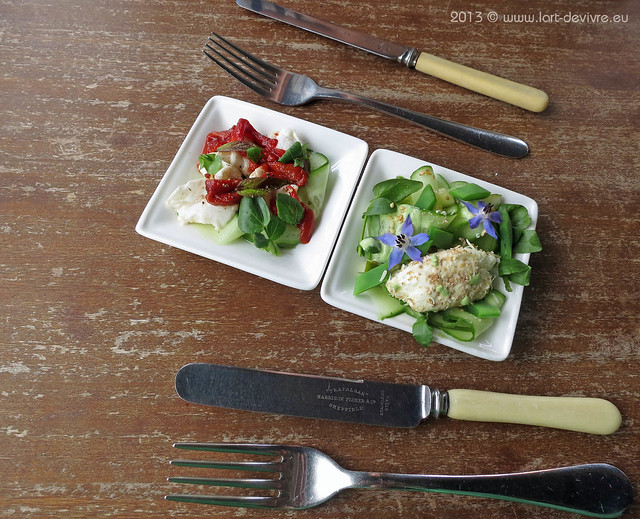 The Ethicurean - spread & salad