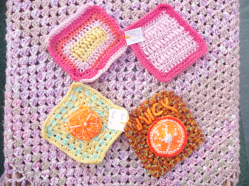 'Fruit Challenge' Squares - beautiful.