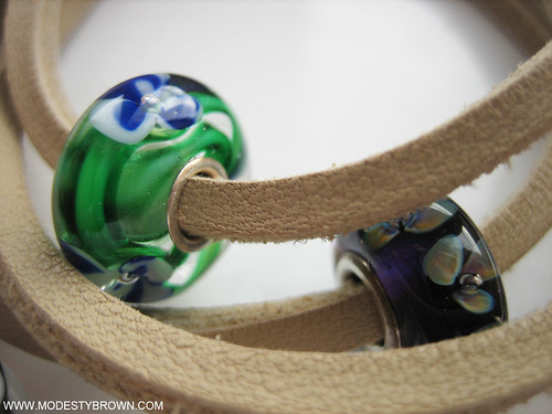 Trollbeads+blue+flower