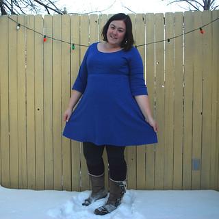 Blue Ballet Dress