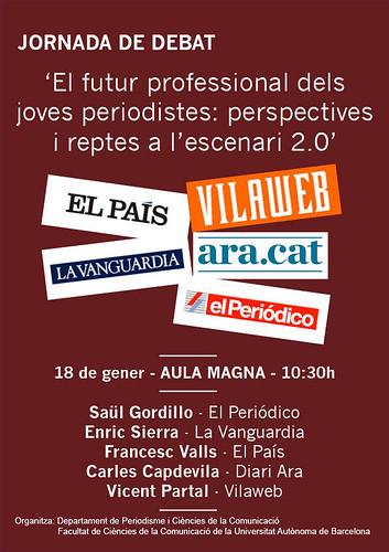 Debat a la Universitat Autònoma de Barcelona