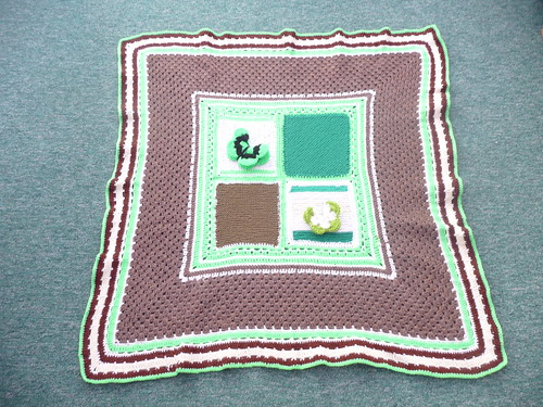 Sally has helped me with 'take a bag'. How nice is this blanket?