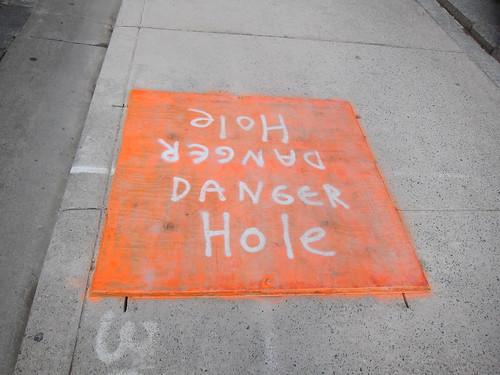 danger hole