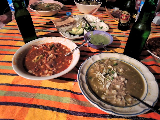 Pozole -- a Thursday night special in Guerrero by bryandkeith on flickr
