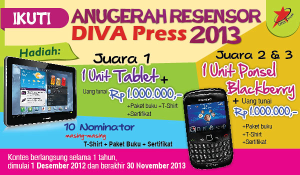 Anugerah Resensor DIVA Press 2013