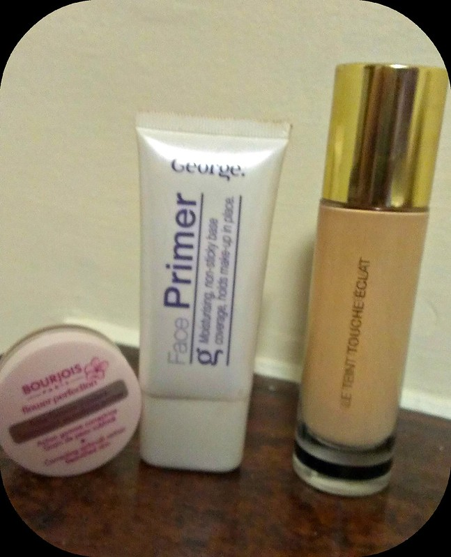Face Favourites: Geroge Face Primer, Bourjois Flower Perfection and YSL Touche Eclat  Foundation