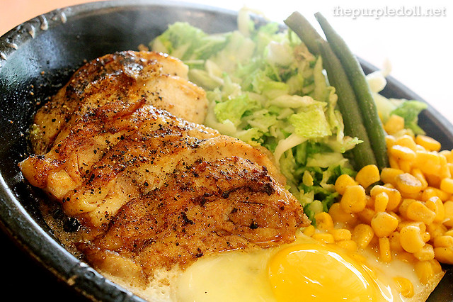 Teriyaki Chicken with Egg P325