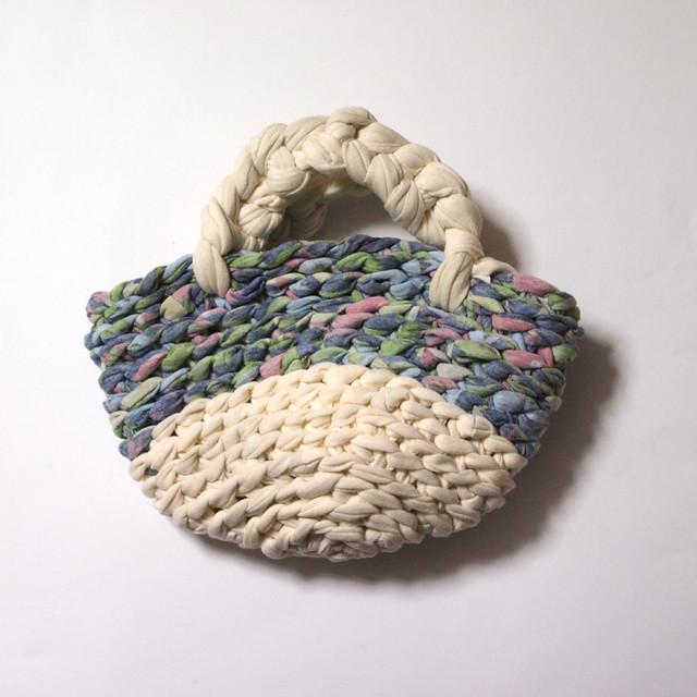 upcycled crochet bag
