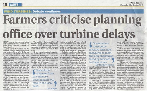 Farmers criticise planners over delays 31st Oct 20110001 by CadoganEnright