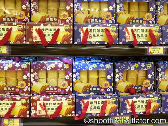 Koi Kei Bakery Macau- Phoenix egg rolls