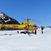 Helicopter on Icefield Tour