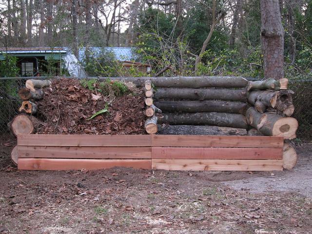 Finished compost bin!
