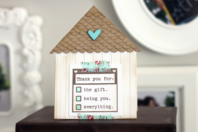 Thank You House: New House Thank You {saturday Creations}