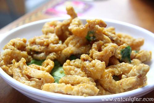 Salted Egg Sotong, Penang Seafood Restaurant