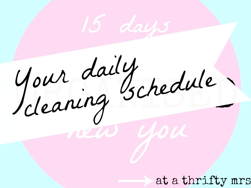 yourdailycleaningschedule
