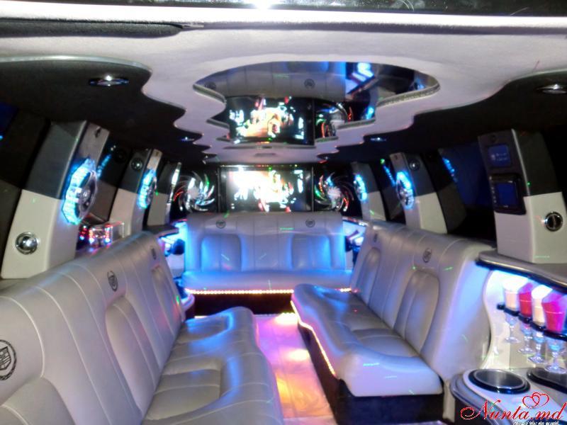 """Прокат лимузинов в Молдове от """"Elitelimo"""" > Cadillac Escalade 2008 Salon"""