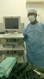 Dr Souare and Endoscope