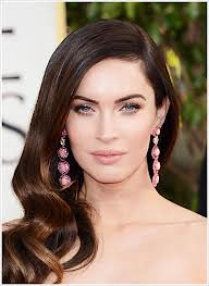 Megan Fox Statement Earrings Celebrity Style Women's Fashion