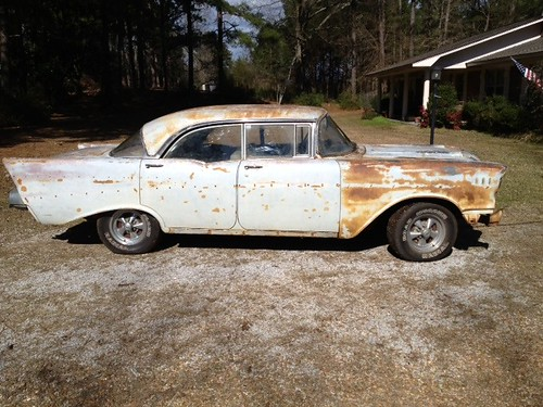 FOR SALE: 1957 Chevy 4-DR Hardtop BelAir