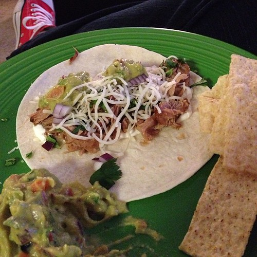 Football? Meh. Guacamole and pork carnita tacos? I'm rooting for your team.
