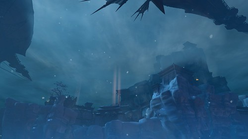 Tempel der Stille - von unten 2