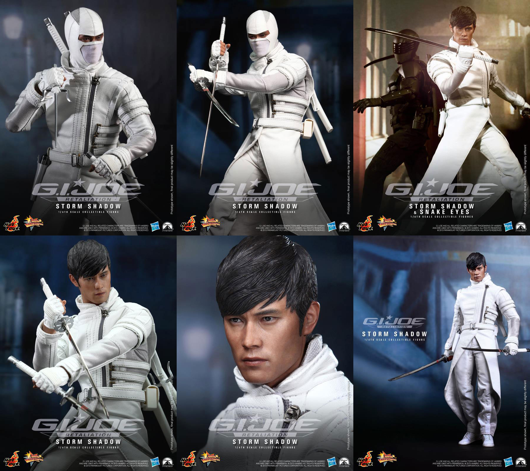 The G I Joe Movie Fanblog: The Reveal of Storm Shadow 1/6 by Hot