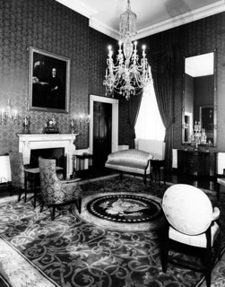 Green Room of the White House, 09/1948