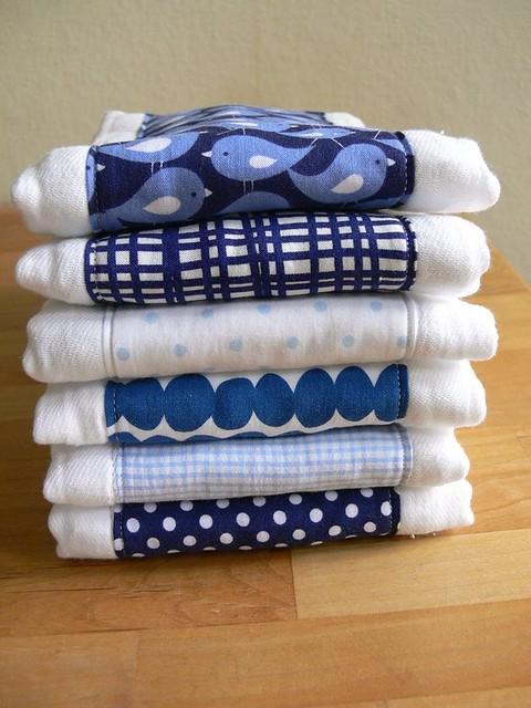 Jenny Bartoy: Custom Baby Burp Cloths