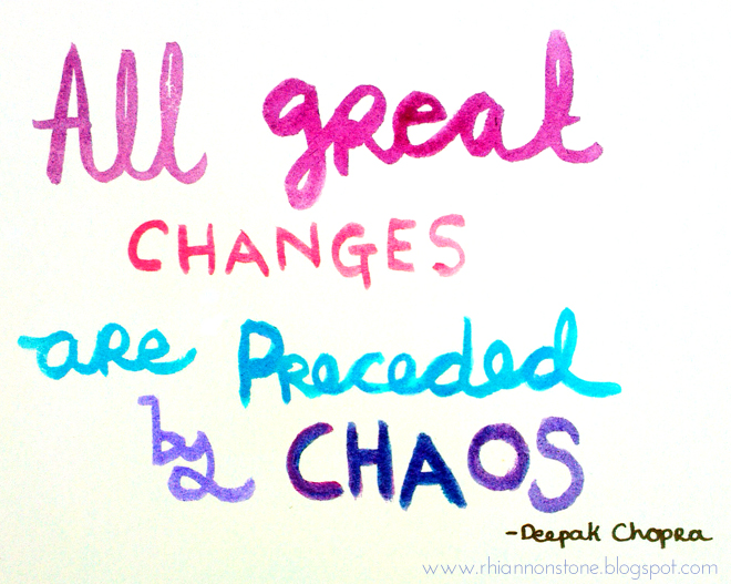 all great changes are preceded by chaos_watercolour