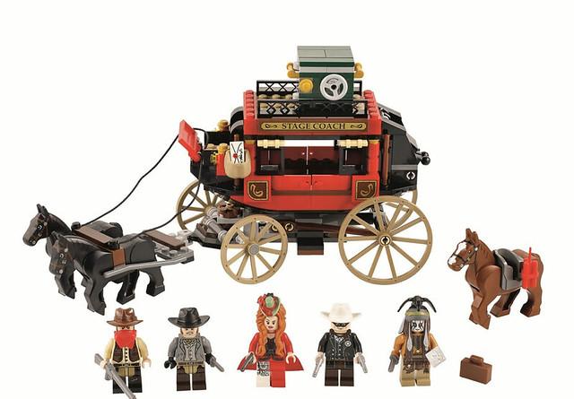 LEGO The Lone Ranger 79108 – Flucht mit der Postkutsche