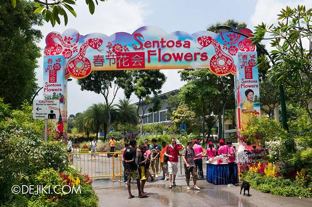Sentosa Flowers 2013 - Gateway