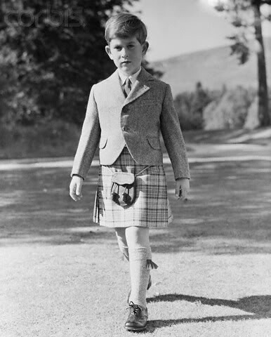 1958 The Duke of Rothesay, Prince Charles photos wearing the kilt