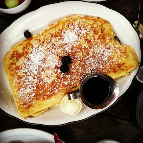 Dessert pancake