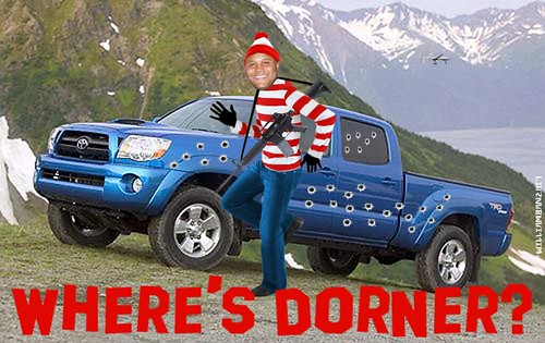 WHERE'S DORNER by Colonel Flick/WilliamBanzai7