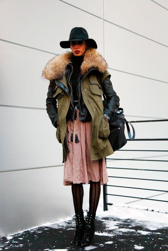lauren_nyfw2013 street style, street fashion, women, MBFW, NYFW, NYC