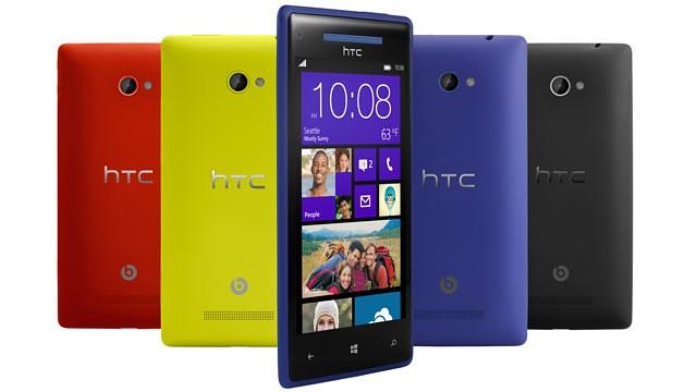 HTC Windows 8X Cell phone smart phone