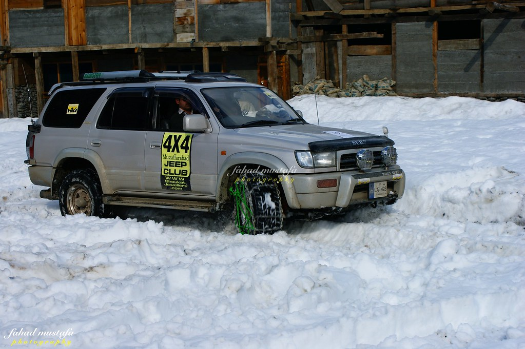 Muzaffarabad Jeep Club Neelum Snow Cross - 8472021322 deb4cd5976 b