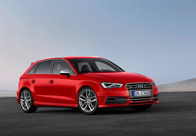New Audi S3 Sportback Front