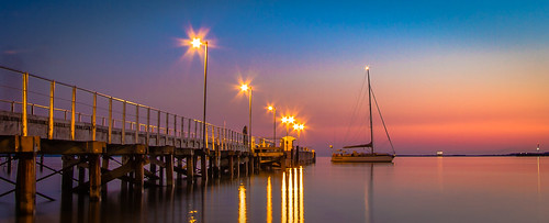 Port Lincoln Jetty at Dawn