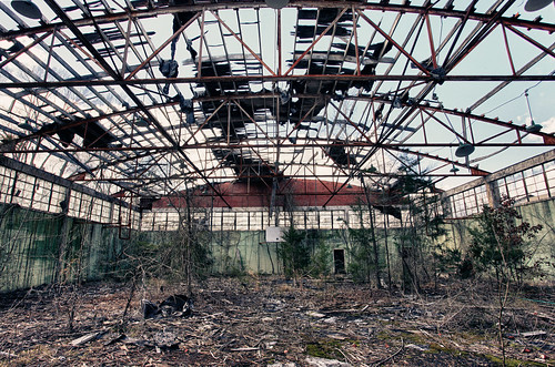 Abandoned School Gym