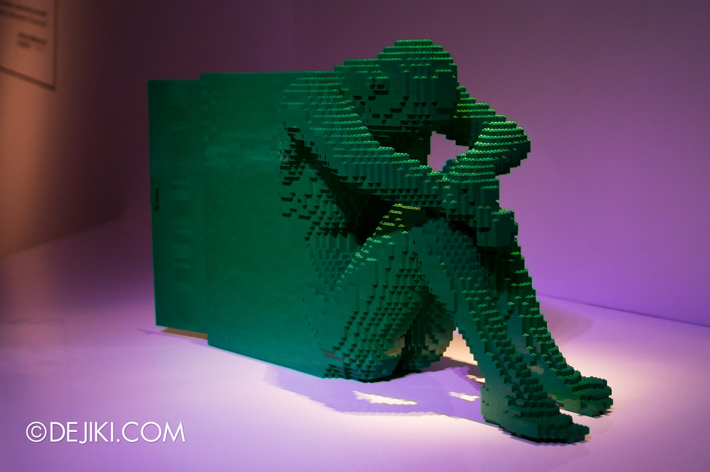Art of The Brick - Green