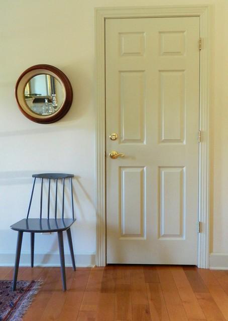 danish modern side chair
