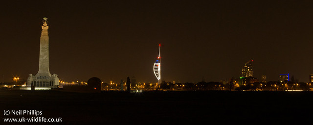 Portsmouth at night-4