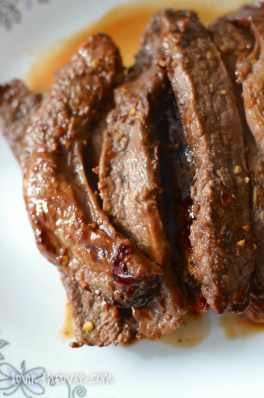 how to cook beef flank steak in oven