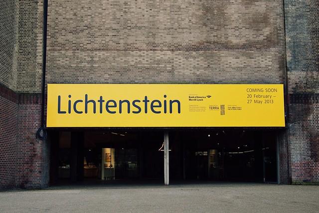 Lichtenstein, Tate Modern